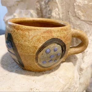 Eclectic Handmade Pottery Coffee Tea Mug